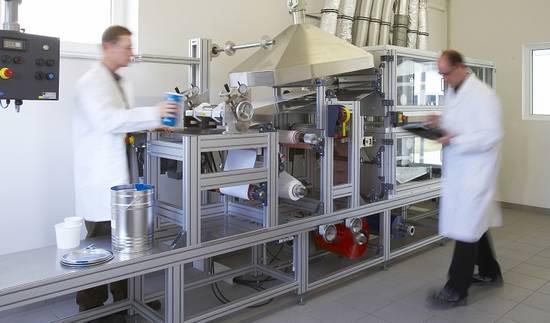 Beschichtung von Folien im Auftrag - Lohnbeschichtung