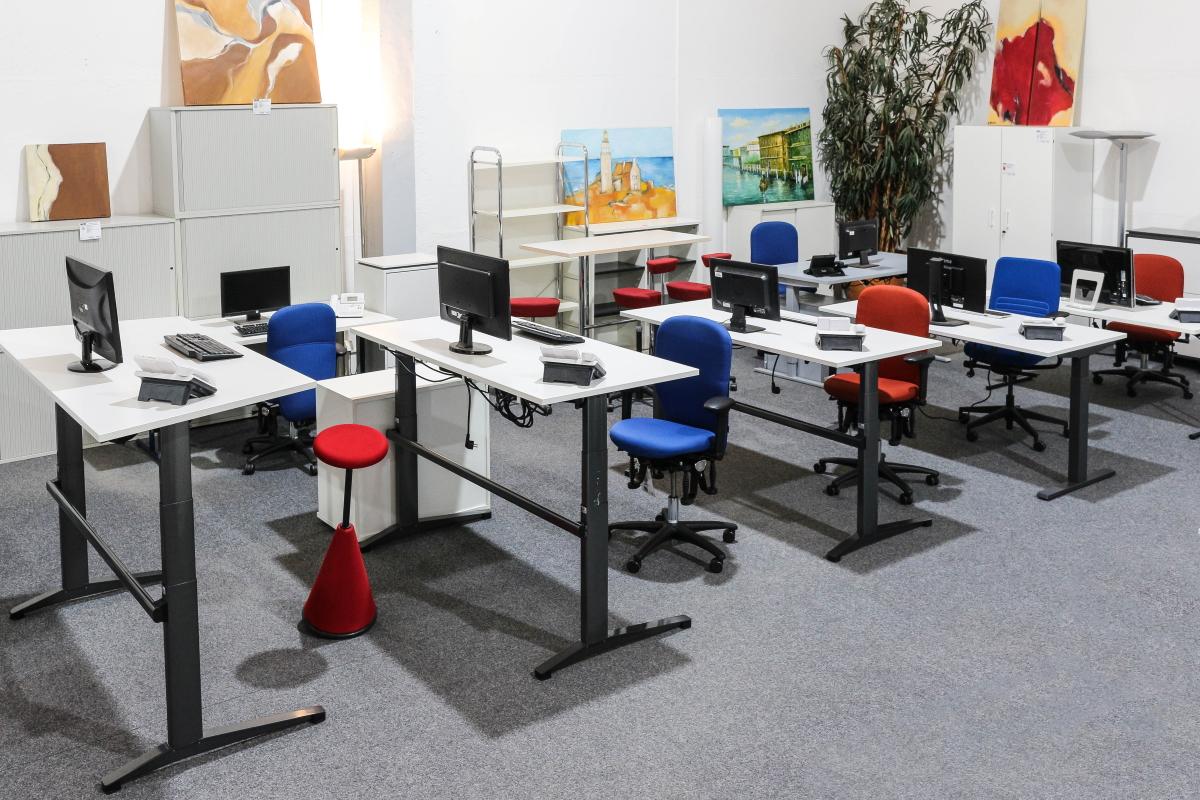 Showroom am Büromöbel Standort Mühlenbeck bei Berlin