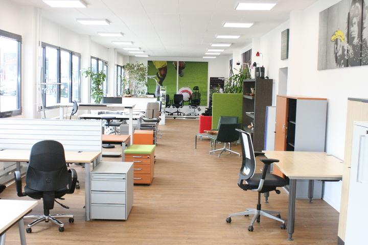 Showroom am Büromöbel Standort Rhein-Main bei Frankfurt