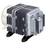 Neben unserem Angebot an Membranpumpen und Belüftungskompressoren produzieren wir auch Linear-Kolben-Pumpen.