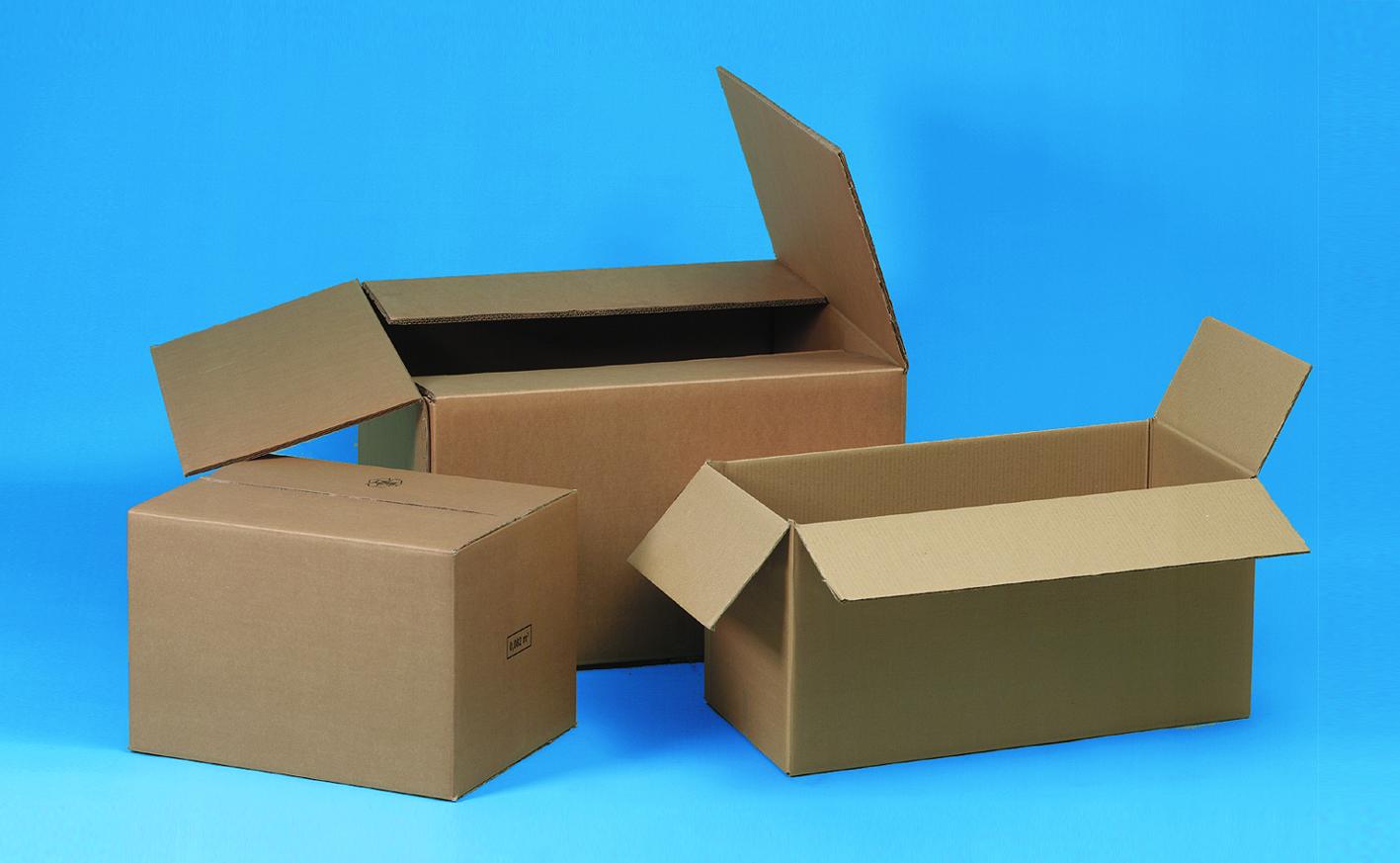 Wellkartonboxen, Faltschachteln, Karton-Verpackung