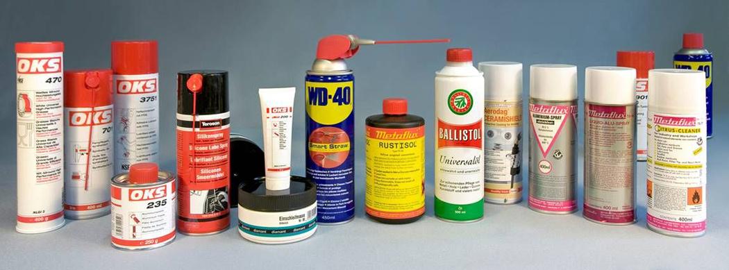 Schmierstoffe und Wartungsprodukte