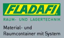 FLADAFI Raum- und Lagertechnick. Material- und Raumcontainer mit System