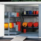 Lagercontainer für Gefahrstoffe