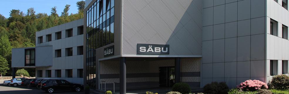 Firmengebäude SÄBU - Lagercontainer für Materiallagerung und Gefahrstofflagerung