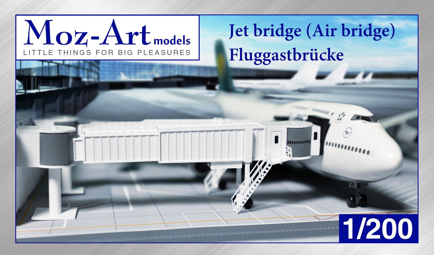 Fluggastbrücke 1:200