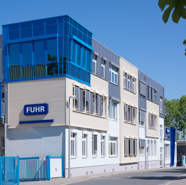 FUHR Verwaltungsgebäude am Stammsitz in Heiligenhaus