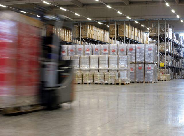 Lagerplatzhaltung für Stückguttransporte