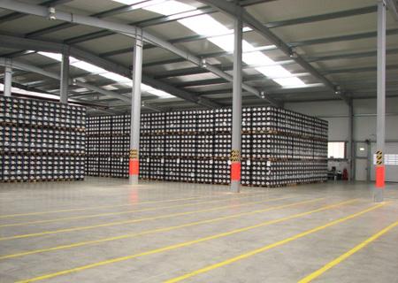 Lagereien Blocklager für Waren