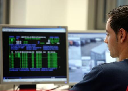 Software und Videounterstütze Überwachung der Lagereien