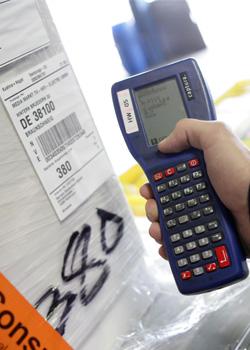 Barcodescanner Stückguttransport