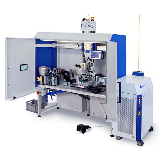 TeKoL Laser-Arbeitsplatz Modell LAP 30-4S Vollautomatisch inkl. Nacharbeiten