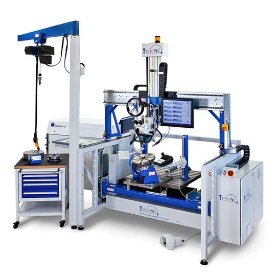 TeKoL Laser-Arbeitsplatz Modell LAP 350-5