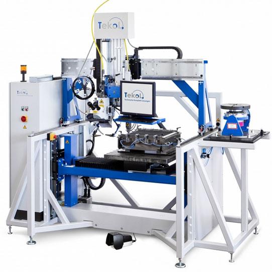 TeKoL Laser-Arbeitsplatz Modell LAP 500-5 SS - 3D Laser-schweißen und Laser-schneiden