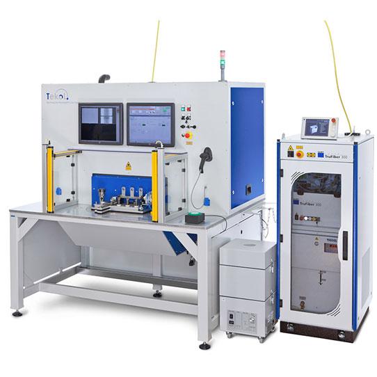 TeKoL Laser-Arbeitsplatz Modell  LAP-5S mit CNC-Steuerung und Drehteller