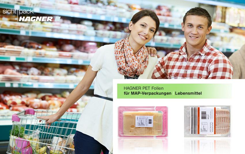 Klarsichtverpackunegn für Lebensmittel