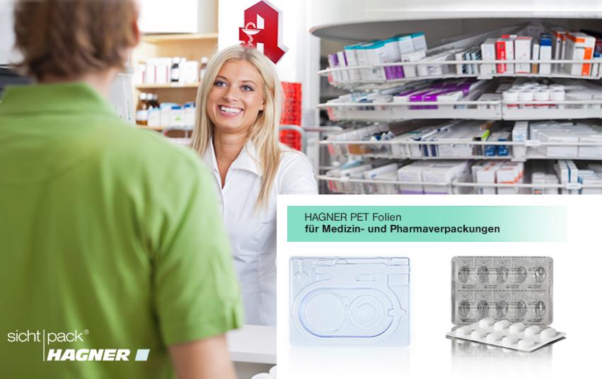 Klarsichtverpackungen, Blisterverpackungen für Medizin