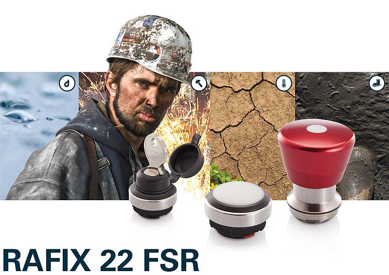 RAFIX FSR befehlsgeräte für harten Einsatz