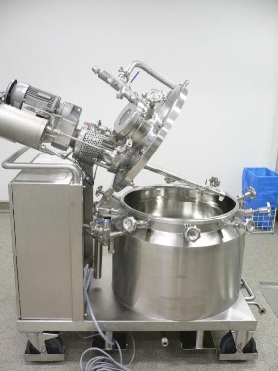 Coating- Rührbehälter nach ATEX