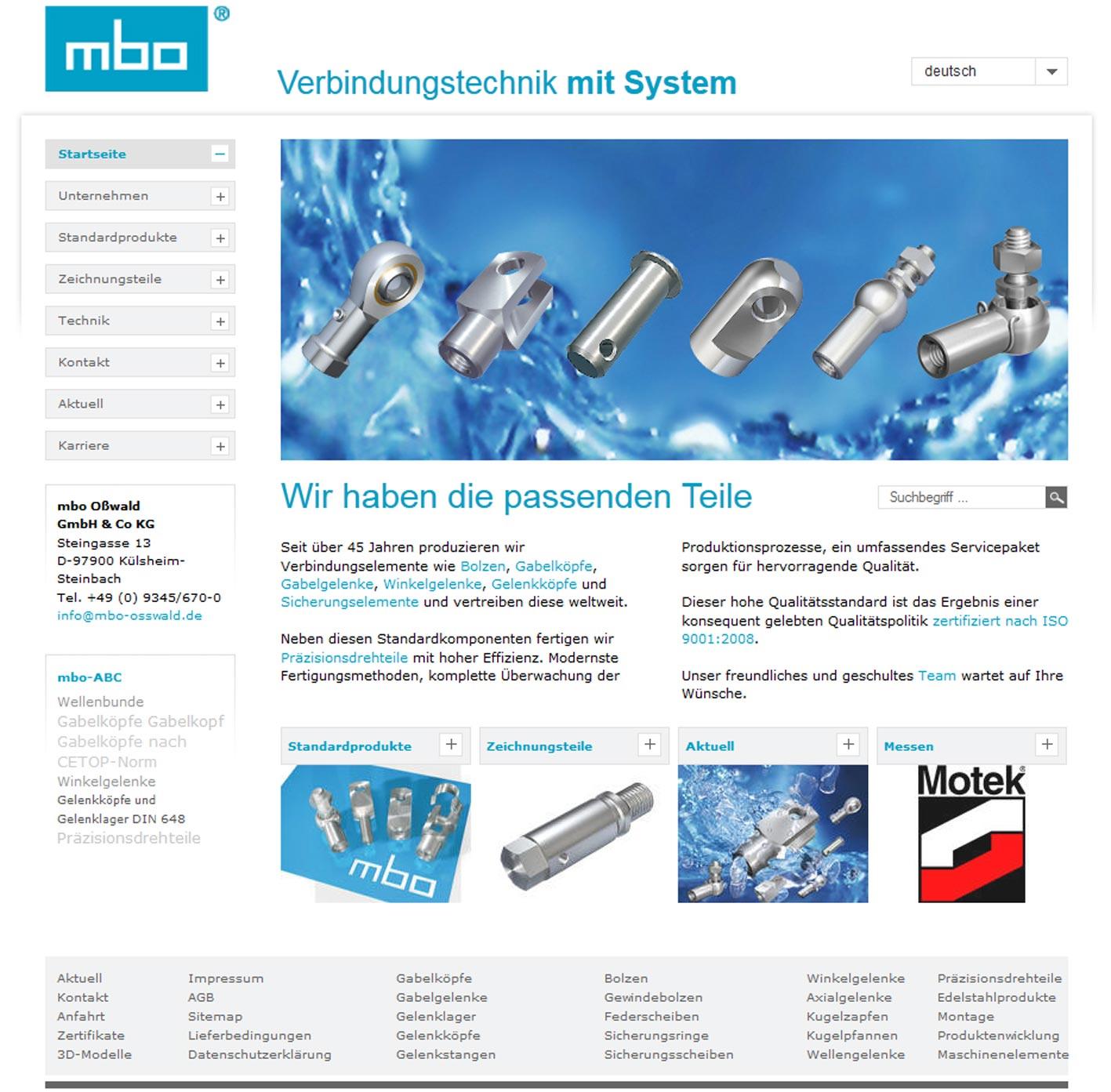 Homepage Relaunch