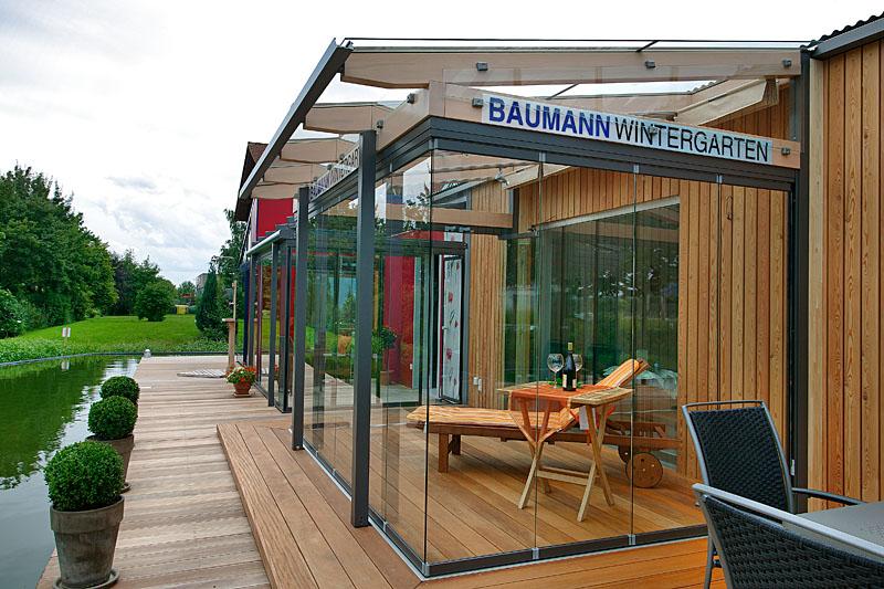 Cabrio Veranda oder Terrassenverglasung als Freisitz von Baumann Wintergarten in Stockheim bei Kronach, Oberfranken