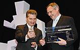 Preisverleihung durch Oettinger