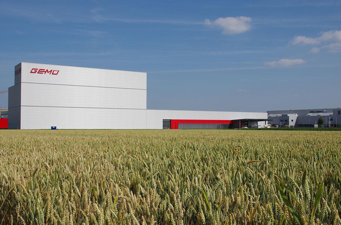 Produktions- und Logistikzentraum Europa in Kupferzell, Deutschland
