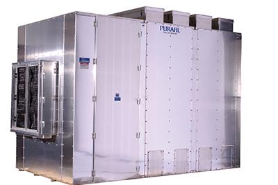 Tiefbett Schüttgutfilter zur Elimination aggressiver/toxischer Luft-Schadstoffe / Gase