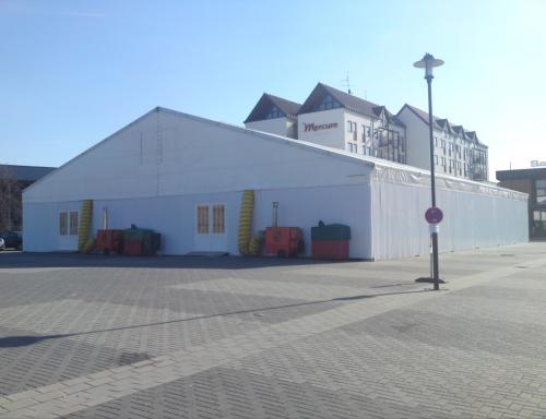 Zeltverleih Franzreb Bad Dürkheim Messezelte