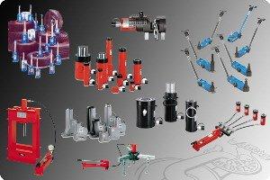 Hydraulische Hebezeuge und Werkzeuge