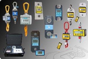 Kranwaagen und Zugkraftmessgeräte