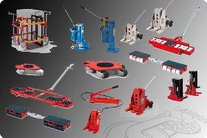 Transportfahrwerke und Maschinenheber
