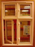 Schwingfenster Villa Schwingflügelfenster .....vertikal nach aussen .....öffnend
