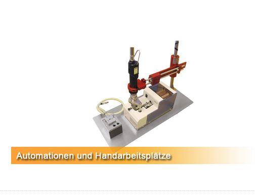 Automationen und Handarbeitsplätze