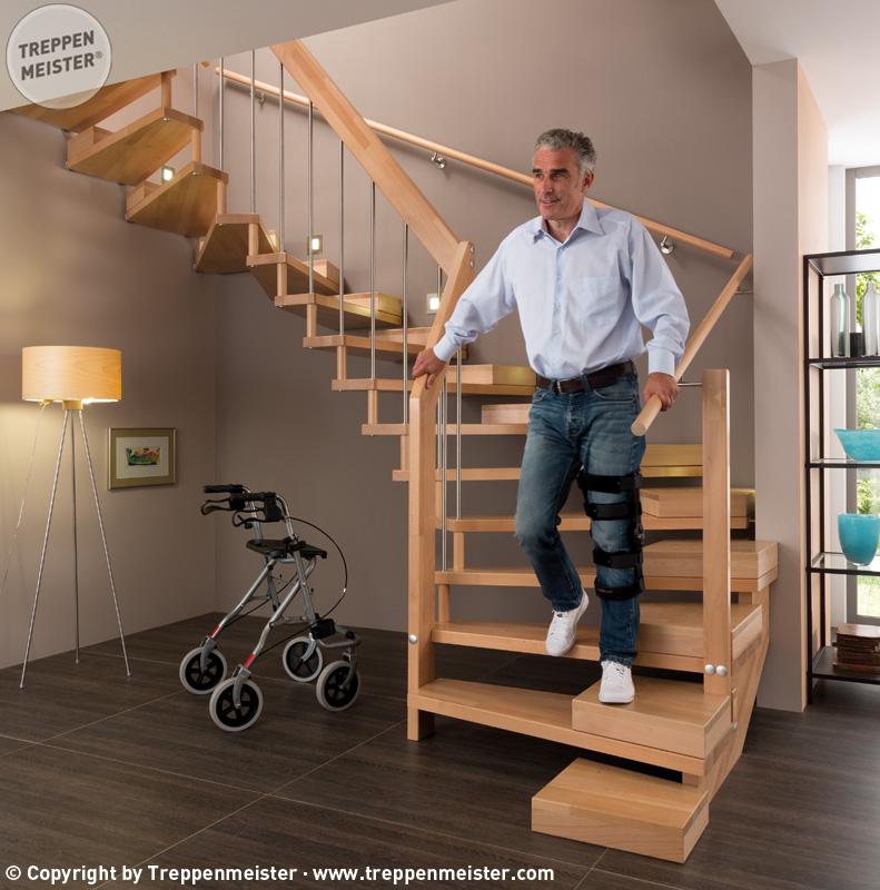 Altersgerechte Treppen
