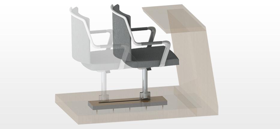 Stuhlführung (Stuhlführungen) von Trendelkamp,