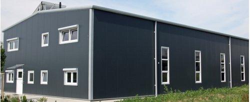 schl sselfertige stahlhallen systemhallen aus stahl. Black Bedroom Furniture Sets. Home Design Ideas