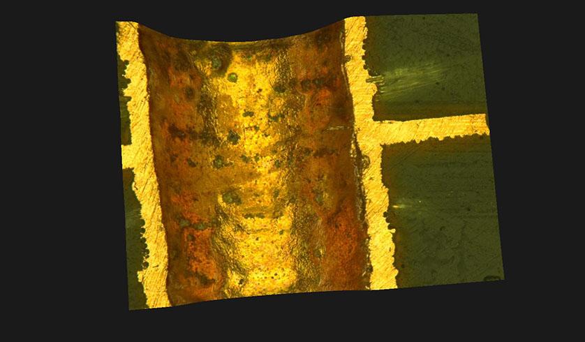Schiffbild in 3D Darstellung